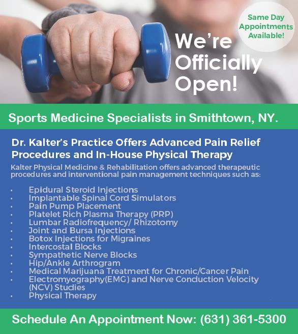 Long Island, NY Sports Medicine Specialist
